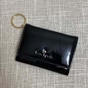 Kate Spade Patent Leather Wallet with Keyring